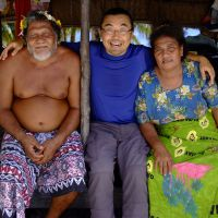 Man with a mission: Shuichi Endo has spent the last 15 years getting to know the people of Tuvalu and helping them as they face the prospect of becoming 'environmental refugees.' | TUVALU OVERVIEW