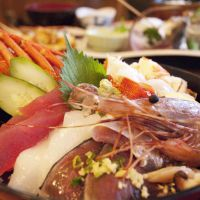 Fruit of the sea: The Izu Peninsula is rightfully famous for its seafood, which is best eaten raw as sashimi or sushi. | SKYE HOHMANN PHOTOS
