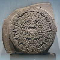 Wrong time, wrong place: Despite being used all over the Internet and elsewhere to represent the Mayan Calendar, this is actually the Aztec Calendar Stone. | WIKIPEDIA