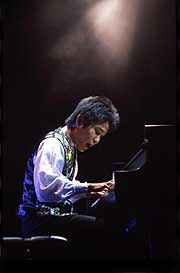 Takashi Matsunaga performs at Zepp Tokyo.