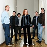 The New Pornographers (keyboardist Blaine Thurier second from left) headline 'Canadian Rock & Rule,' a showcase also featuring Jason Collett, Amy Millan and Bedouin Soundclash, on Jan. 18 and 19.