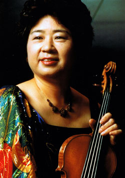 String when you're winning: Yuriko Kuronuma, a Japanese violinist based in Mexico City, works to enhance musical ties between the two countries.