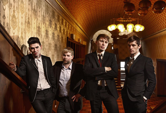Getting festive: Franz Ferdinand are looking forward to their live performance at Fuji Rock on July 25.