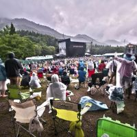 Lesser lights shine amid Fuji Rock rains