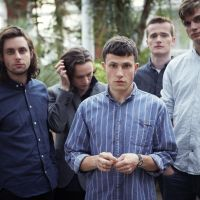 Give in to the child: According to vocalist Orlando Weeks, the new album by The Maccabees (pictured from left to right are Felix White, Hugo White, Orlando Weeks, Sam Doyle and Rupert Jarvis) takes a lot of elements from the members' own childhoods and the accompanying nostalgia.