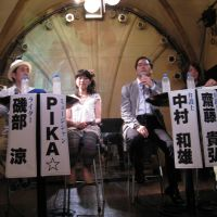 Club policy: Lawyer Kazuo Nakamura joins panelists from the Kyoto-based group Let's Dance on Sunday to address concerns about Japan's so-called antidancing law. | MARK JARNES