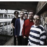 Joy fantastic: 'In Our Heads,' the new album from Hot Chip (above from left: Felix Martin, Al Doyle, Owen Clarke, Joe Goddard and Alexis Taylor), reflects the good place the member's find themselves in these days.