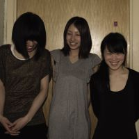Moving while standing still: Tokyo band Nisennenmondai consists of (from left): bassist Yuri Zaikawa, guitarist Masako Takada and drummer Sayaka Himeno. | IAN MARTIN