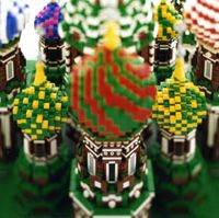 Moscow's St. Basil Cathedral gets the Lego treatment