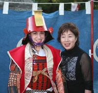 Visitors wear samurai armor in celebration of Japan's Edo Period. | COURTESY OF KOEDO KAWAGOE TOURIST ASSOCIATION