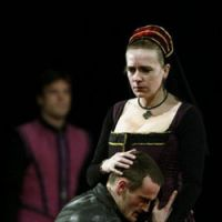 A scene from 'Hamlet,' being staged in Japan by the International Theatre Company London