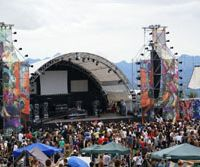 Full power: Thousands of ravers party under sunny skies at The Gathering 2007. The 2008 version of the summer's biggest psychedelic trance festival is set for Sept. 13-15 at the Palcall ski resort in Tsumagoi, Gunma Prefecture. | HANAKO HORIBE