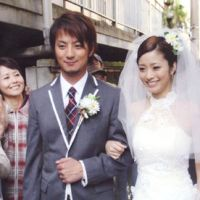 Life of make-believe: Aya Ueto's character Alice Mitazono appears with Taro Sato (Yusuke Kamiji) in the drama 'Celeb to Binbo Taro' ('The Celebrity and Poor Taro').