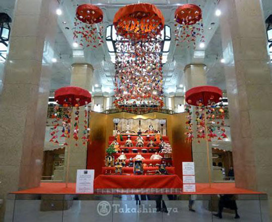 Takashimaya branch to celebrate girls day with doll display
