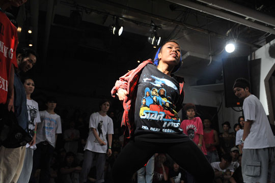 Into the groove: Competitors strut their stuff at last year's edition of Dance@Live.