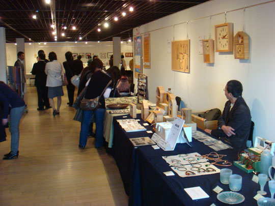 Crafty pursuits: Visitors peruse the wares at last year's Craft Festa in Yokohama. This year's edition will feature 30 exhibitors.