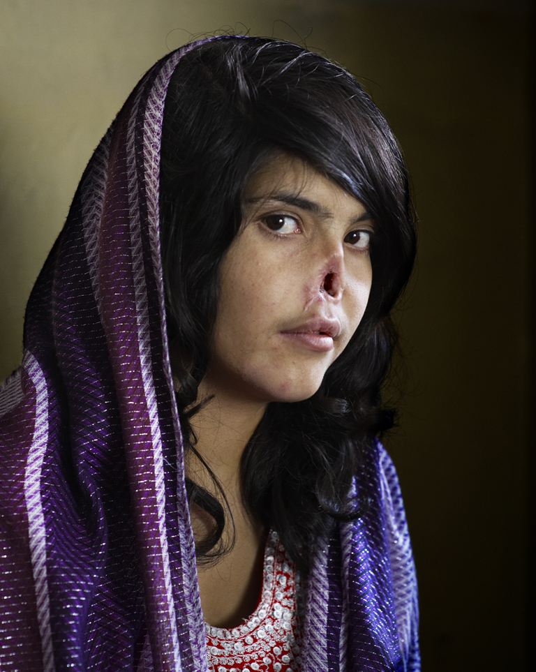 A thousand words: Jodi Bieber's portrait of a girl in Afghanistan is featured at this year's World Press Photo exhibition.