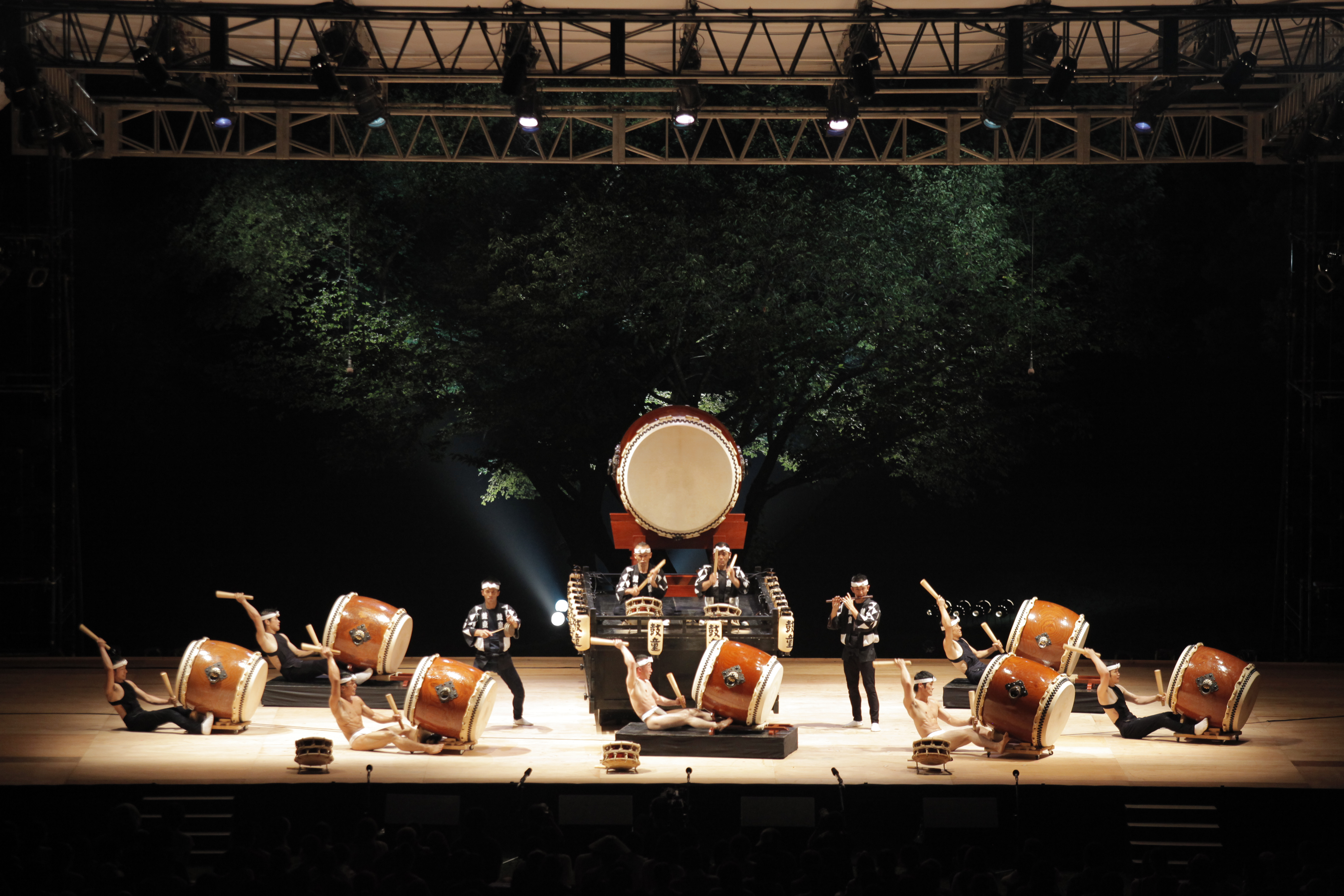 Drum circle: The Kodo drumming troupe will perform at Earth Celebration on Sado Island, Niigata Prefecture. | COURTESY OF KODO