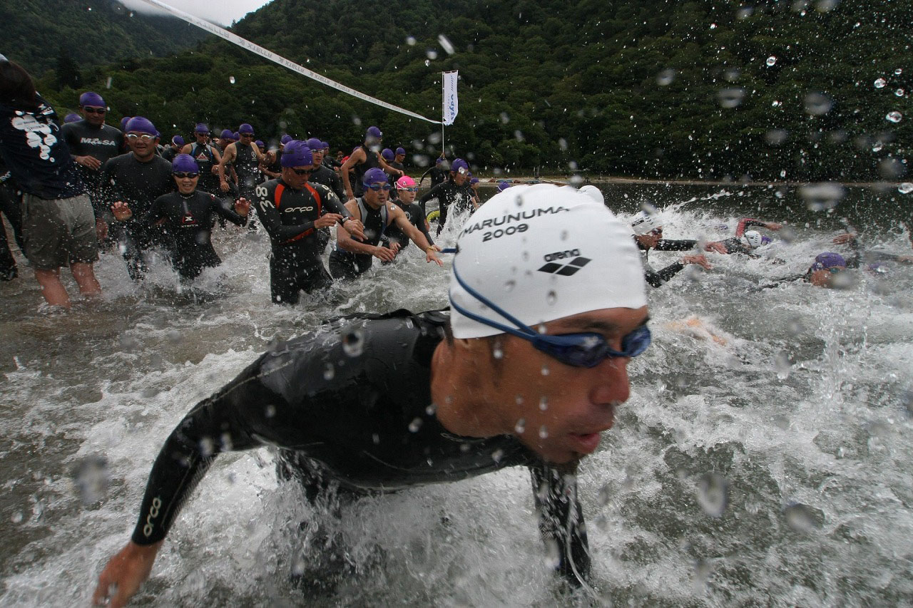 Fitness first: A number of athletic events are taking place this weekend. One of these is the 2011 Terra Japan Championship, a triathlon being held in Gunma Prefecture.