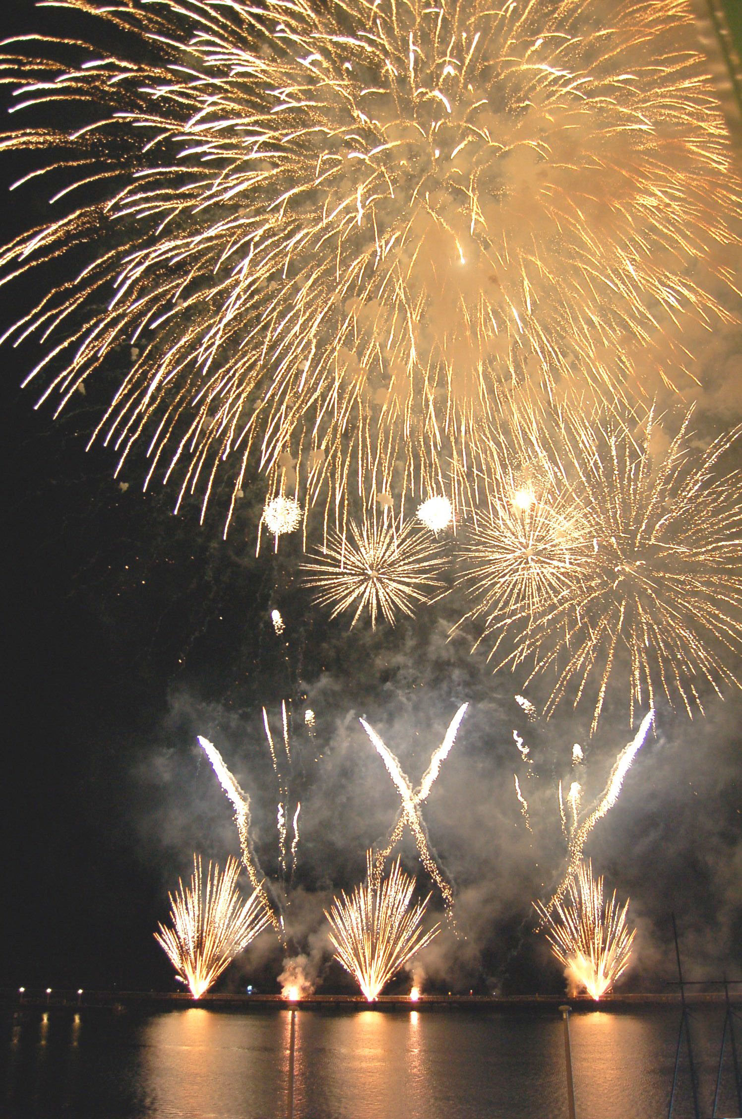 One last bang: Fireworks season draws to a close with the World Fireworks Competition.