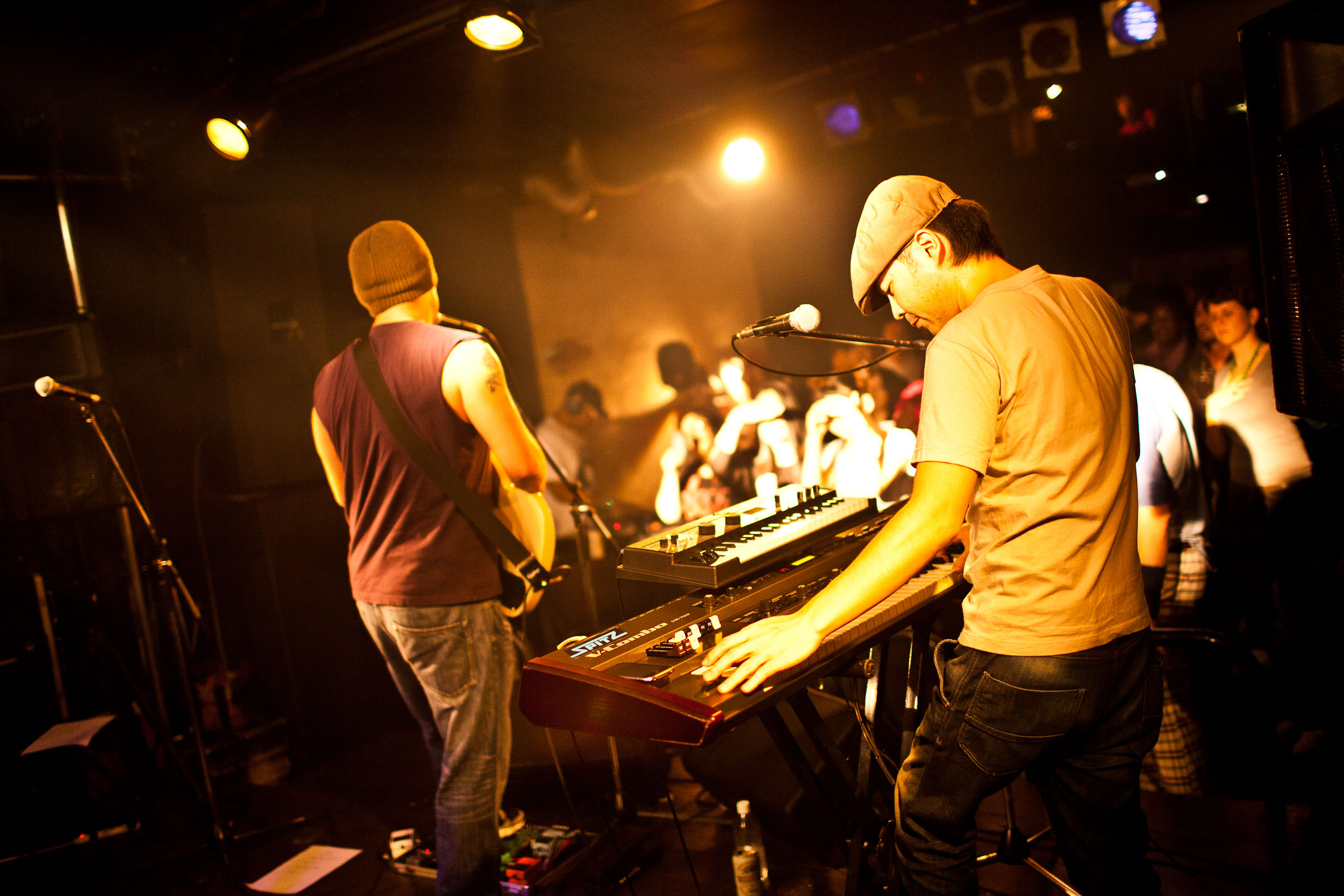 Rockin' with the best: Tokyo's Kinlay Band play during last year's Japan Music Week.