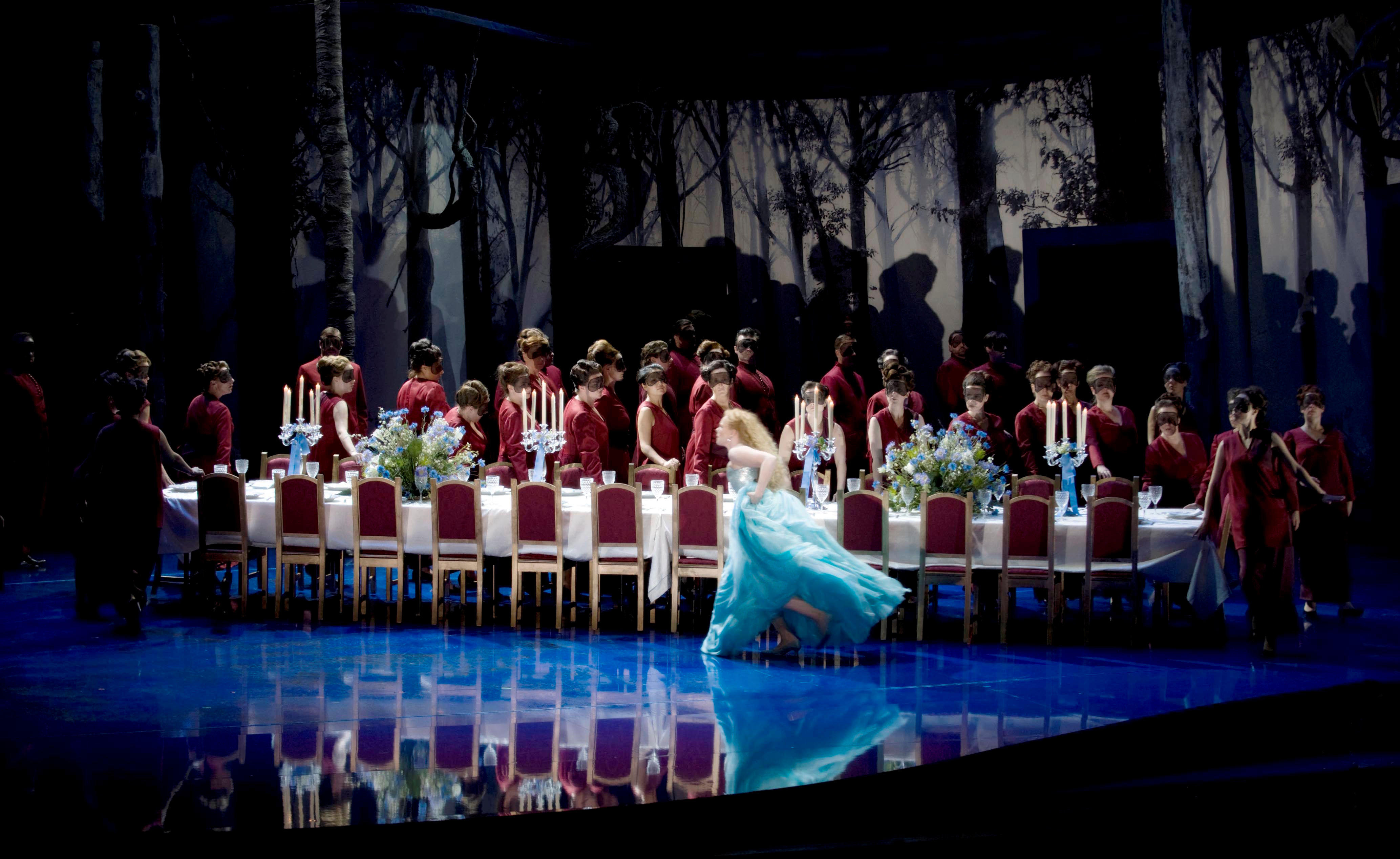 Stage presence: 'Rusalka,' by composer Antonin Dvorak, at the Norwegian National Opera & Ballet in 2009. | ERIK BERG / THE NORWEGIAN NATIONAL OPERA & BALLET