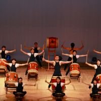 They bang the drums: A drum troupe from Tokyo's International Christian University will perform to support a children's charity.