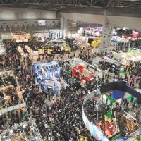 Toon town: Crowds gather at The Tokyo International Anime Fair in 2010. | TAFEC