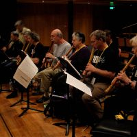 Flute loops: People in Sydney learn how to play the shakuhachi. | TAKAFUMI TANAKA