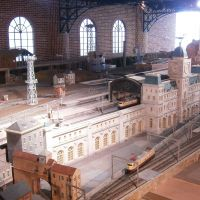 Engineer's playroom: A huge diorama at the Hara Model Railway Museum is bound to be every kid's (and adult's) dream to play with. The model belongs to Nobutaro Hara, a well-known model-train collector.