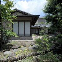 Open house: A home built by architect Isoya Yoshida (above) and one by Junzo Yoshimura (right) are part of an exhibition meant to teach people about the heritage buildings, and find real buyers to save them. | SADAMU SAITO PHOTOS