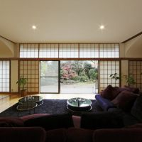 Spacious living: A house created by Kunio Maekawa for himself in 1974. The owners are looking to find a new owner who is willing to preserve the building.