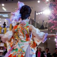 Pan-Asian delights: The Sakura Collection event held at Kansai International Airport will feature pieces by Asian designers that are made of traditional Japanese textiles. | (C) YUJI TOZAWA PHOTOGRAPHS. ALL RIGHTS RESERVED.