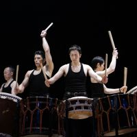 Little drummer boys: Japanese drumming group Kodo will conclude their 'One Earth' tour for the year by performing three shows in Tokyo this weekend.