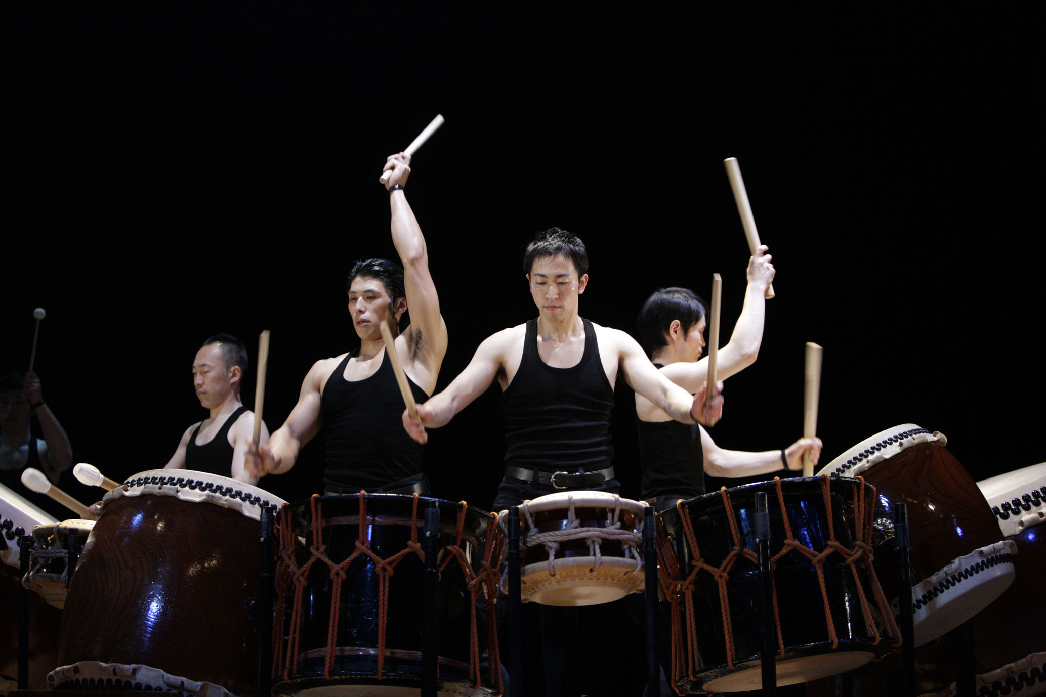 kodo drumming group essay Achieving my dream of joining kodo, the famous taiko group that lives on the island of sado, will be a rough road first, you have to apply by reading a book and writing an essay first, you have to apply by reading a book and writing an essay.
