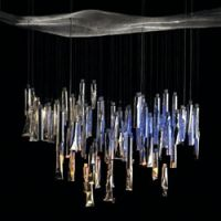 Toothpaste tube chandeliers, eco-seats and other design highlights