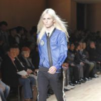 JFW prepares for the men: An ensemble from the spring/summer collection of menswear label ato, modeled by Adrej Pejic.