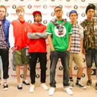 The A-list: Models show off BAPE's new Aape line of streetwear