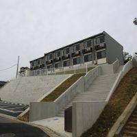Mansions on the hill: A new set of one-room apartments near the Narita Line in northern Chiba Prefecture.   PHILIP BRASOR