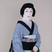 Fatal beauty: Nakamura Tokizo as Owaka in 'The Diary of Magistrate Toyama with the Tattooed Cherry Blossoms' | THE NATIONAL THEATER OF JAPAN