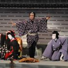 Young kabuki talent for the new year