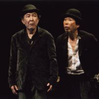 Bringing back the original: For this version of Samuel Beckett's 'Waiting For Godot,' actors Isao Hashizume (left) and Saburo Ishikura work from a newly translated script from the French original. | (C) MASAHIKO YAKOU