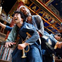 Interpreting the Bard: Motoi Miura and his theater company Chiten performed a minimalistic version of William Shakespeare's 'Coriolanus' at London's Globe as part of last year's Globe to Globe project. | © SIMON ANNAND