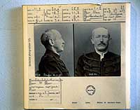 A copy of the penitentiary record of Capt. Alfred Dreyfus, who was imprisoned on Devil's Island