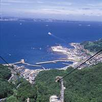 You can enjoy a panoramic view of Boso Peninsula by taking a cable car. | PHOTO COURTESY OF FUTTSU CITY TOURIST ASSOCIATION