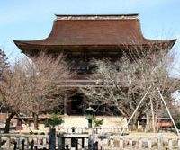 Kinpusen-ji Temple in early spring | PERRIN LINDELAUF PHOTO
