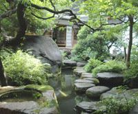 Hidden beauty: Asakura Choso Kan garden is a meditative oasis that offers respite from the busy streets of Taito Ward in Tokyo; The entrance to Asakura Choso Kan. | ADRIAN BENNETT PHOTOS