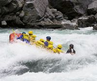 Class 3 rapids attack