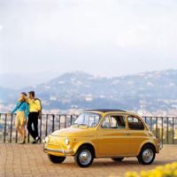 A 499.5 cc Fiat 500 DeLuxe, a model made between 1968 and 1972 | FIAT GROUP