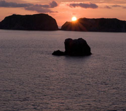 Izu Oshima seen from the ferry | SKYE HOHMANN PHOTOS